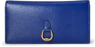 Ralph Lauren Saffiano Slim Leather Wallet