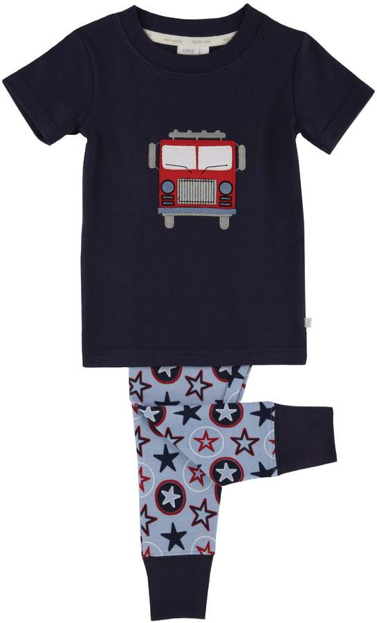 Mini Vanilla Boys Fire Engine Pyjamas