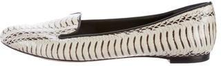 Alexander McQueenAlexander McQueen Python Round-Toe Loafers