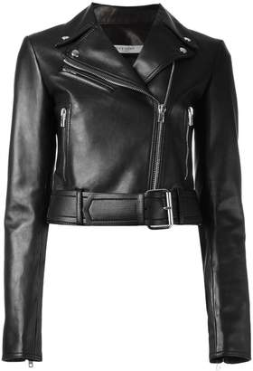Givenchy cropped biker jacket