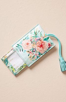 Anthropologie Wild At Heart Luggage Tag