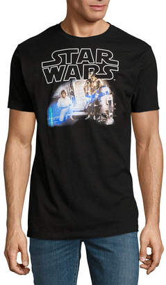Star Wars Novelty T-Shirts R2 Hologram Photo Graphic Tee