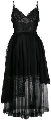 Ermanno Scervino lace flared dress