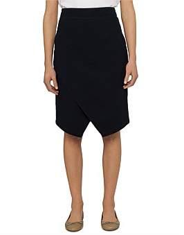 David Jones Mock Wrap Skirt