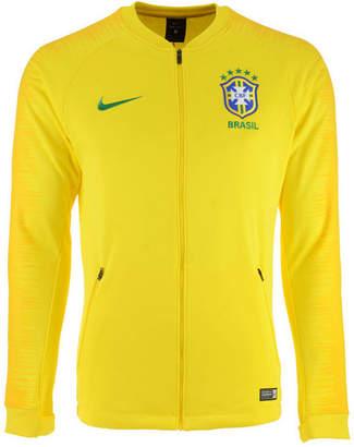 Nike Men's Brazil National Team Anthem Jacket