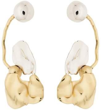Ellery Gold Collage Earrings