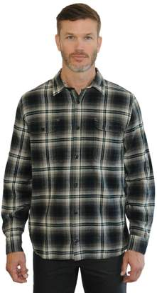 Mountain And Isles Men's Mountain and Isles Classic-Fit Plaid Flannel Button-Down Shirt