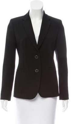 Max Mara Long Sleeve Notch-Lapel Blazer