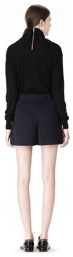 Alexander Wang Pleated Front Skort With Stud Detail