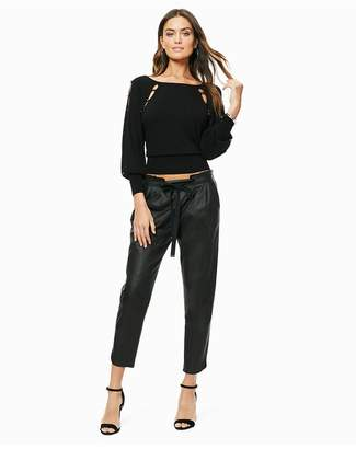Ramy Brook Leather Allyn Pant