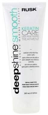 Rusk NEW Deepshine Smooth Keratin Care Deep Penetrating Treatment 207ml Mens