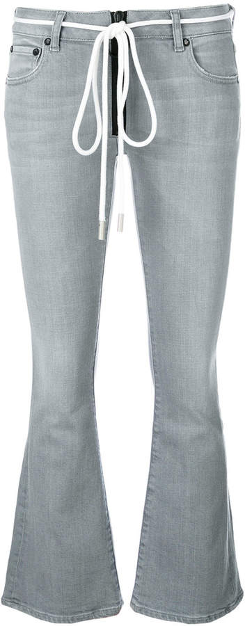 Off-White flared jeans