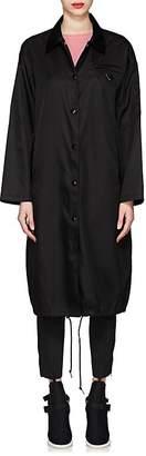 Prada Women's Tech-Gabardine Long Overcoat