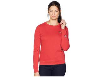 Lacoste Long Sleeve Fleece Crew Neck Sweatshirt