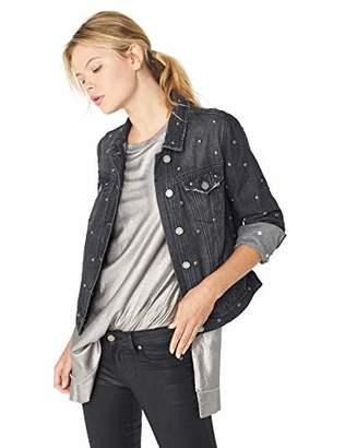 William Rast Women's Tammi High Low Jean Jacket