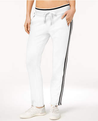 Calvin Klein Terry Striped Ankle Sweatpants