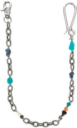 Andrea D'Amico stones key chain