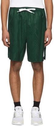 Alexander Wang Green Wool Custom Soccer Shorts