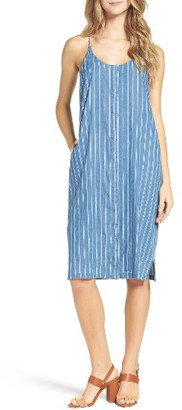 Women's Knot Sisters Apple Valley Stripe Midi Dress $106 thestylecure.com