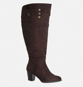 Avenue Meridian Stud Trim Over the Knee Boot