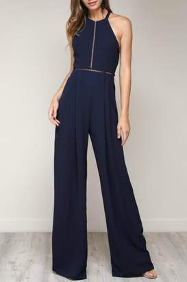 Pretty Little Things Bow Back Jumpsuit