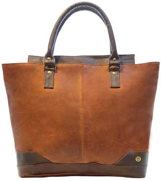 MAHI Leather - Leather Florence Tote Handbag In Vintage Brown