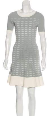 Timo Weiland Rib Knit Flare Dress