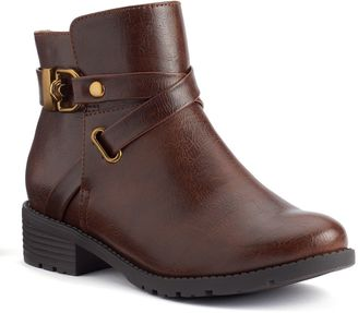 Croft & Barrow® Women's Ortholite Strappy Ankle Boots $74.99 thestylecure.com