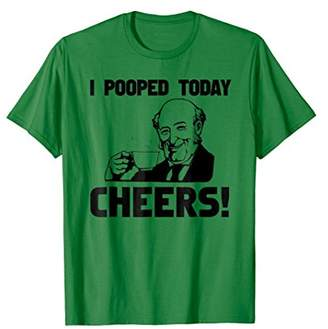 I Pooped Cheers Shirt | Funny Poop Shirt