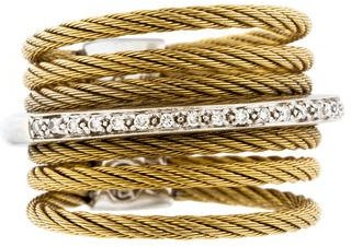 Charriol Charriol Diamond Cable Band Ring