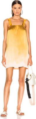 Raquel Allegra Cami Dress in Golden Sun Tie Dye | FWRD