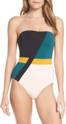 Seafolly Aralia Strapless One-Piece Swimsuit