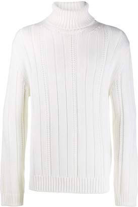 Dondup knitted roll neck jumper