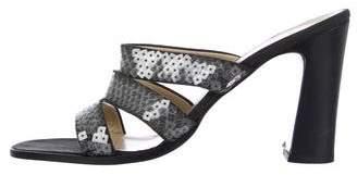 Bottega Veneta Embellished Slide Sandals