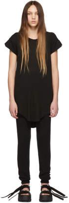 Boris Bidjan Saberi Black Garment-Dyed T-Shirt