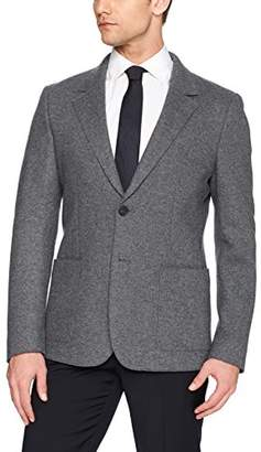 Lacoste Men's 72cm Middle Back Length Wool Heather Yarn Jacket