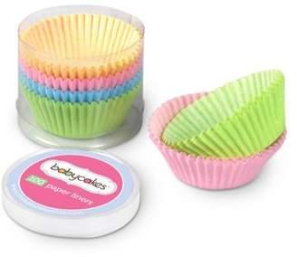 Babycakes Paper Mini Cupcake Liners, Pastel, 100-Count