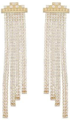 Kendra Scott Olympia CZ Fringe Dangle Earrings