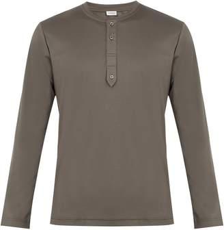 Zimmerli Crew-neck sea-island cotton-jersey pyjama top