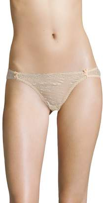Mimi Holliday Women's Toffee Dazzler Sexy Cotton Knickers
