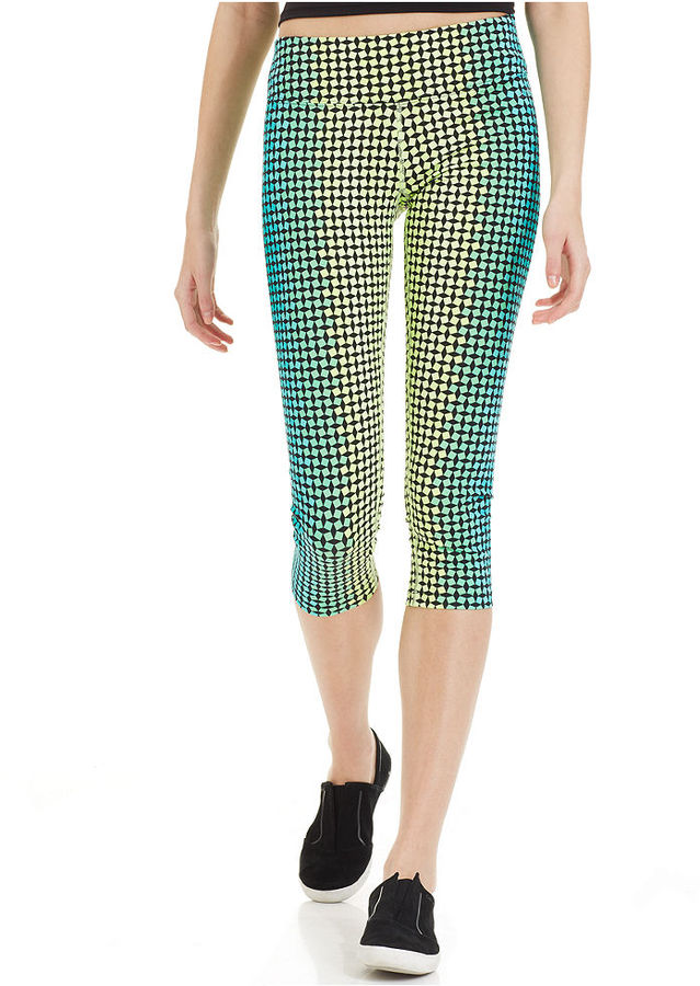 Calvin Klein Printed Ombre Cropped Leggings