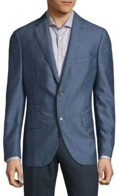 Luciano Barbera Notch Lapels Cashmere Sportcoats