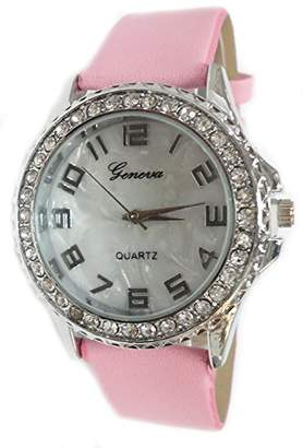 Mother of Pearl Geneva Authentic Dial Women's Watch TW19013