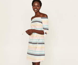 Oasis Long Pastel Stripe Dress