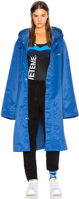 Vetements Entry Level Long Raincoat
