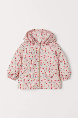 H&M Patterned Parka - Pink