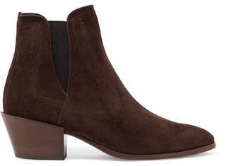 Tod's Suede Chelsea Boots - Brown