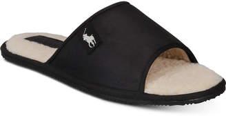 Polo Ralph Lauren Men Antero Leather Slide Slippers
