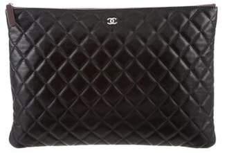 Chanel Lambskin O-Case