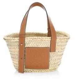 Loewe Women's Mini Basket Bag - Tan